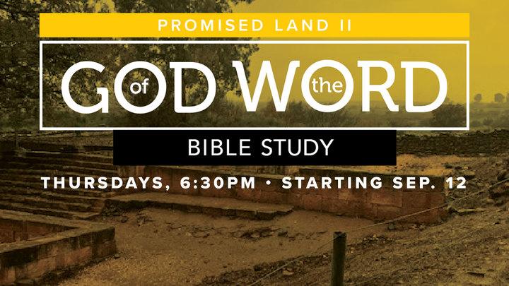Saratoga God of the Word: Promised Land II logo image