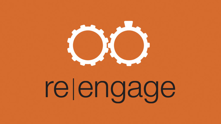 Re|Engage Sunday Morning logo image