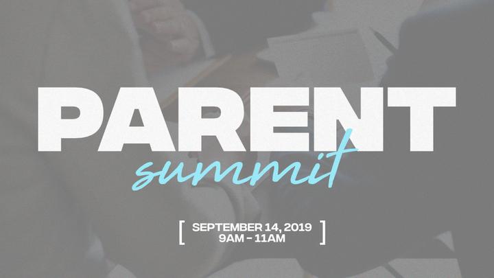 Parent Summit: September 2019 logo image