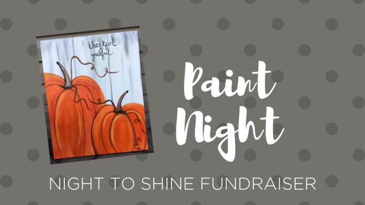 Paint Night for Night to Shine logo image