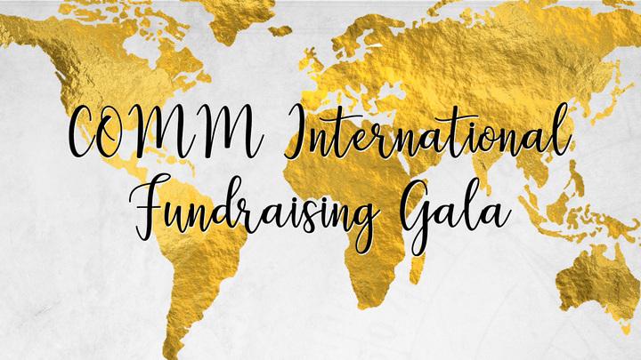 COMM International Fundraising Gala logo image