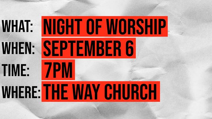 Night of Worship logo image