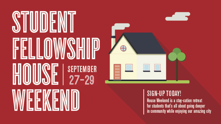 Student Fellowship House Weekend logo image