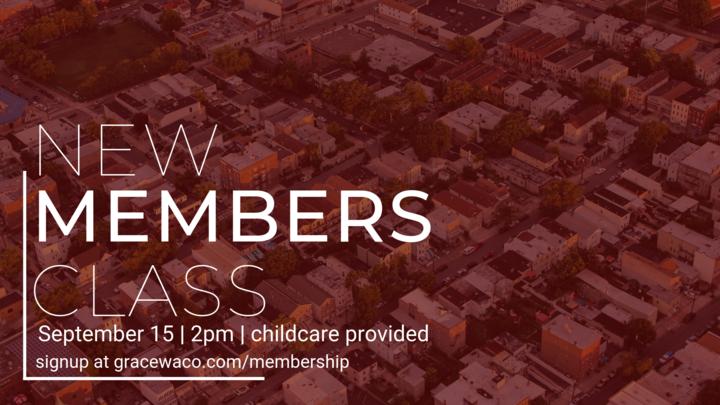 New Members Class logo image