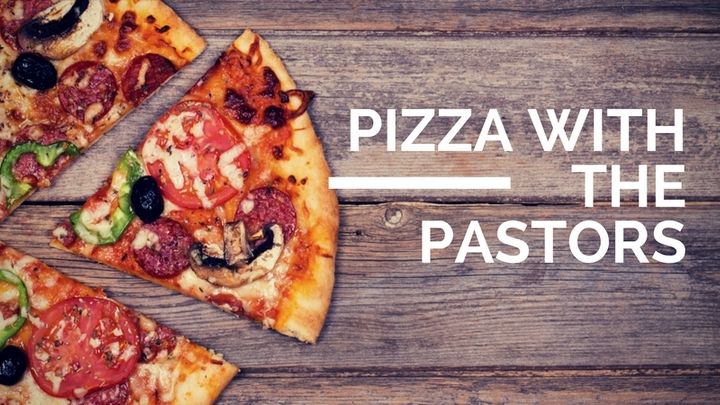 Pizza with the Pastors (Newnan Campus) logo image