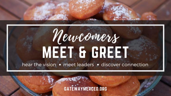 Newcomer's Meet & Greet logo image
