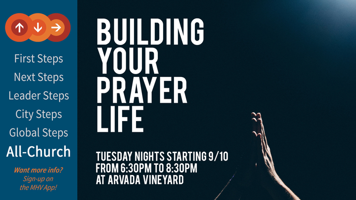 Building Your Prayer Life logo image