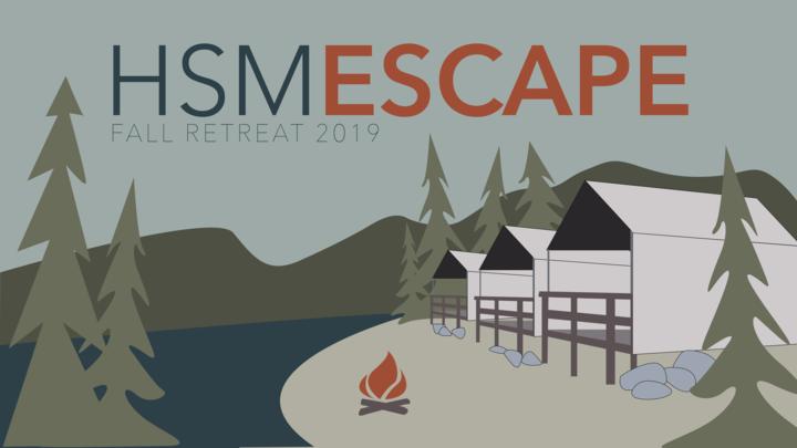 HSM Escape (Fall Retreat) logo image