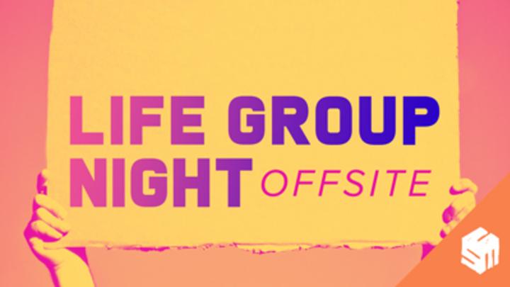 Calvary Students | Life Group Night logo image