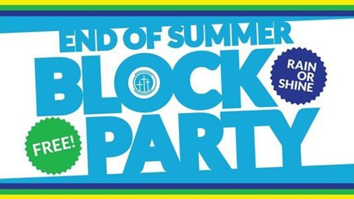 End of Summer BLOCK PARTY! logo image