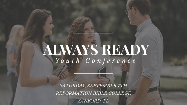 Always Ready Youth Conference logo image