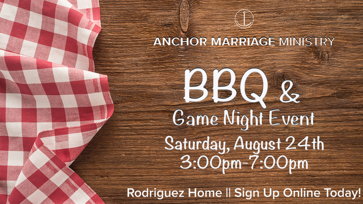 Marriage Ministry - BBQ & Game Night  logo image