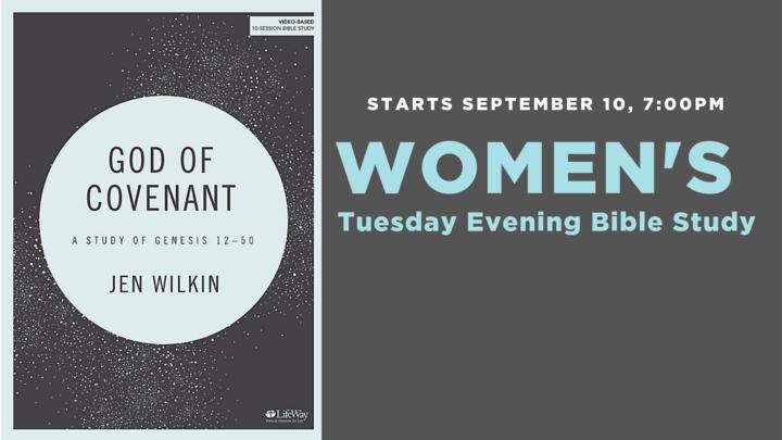 WOMEN'S Evening Bible Study logo image