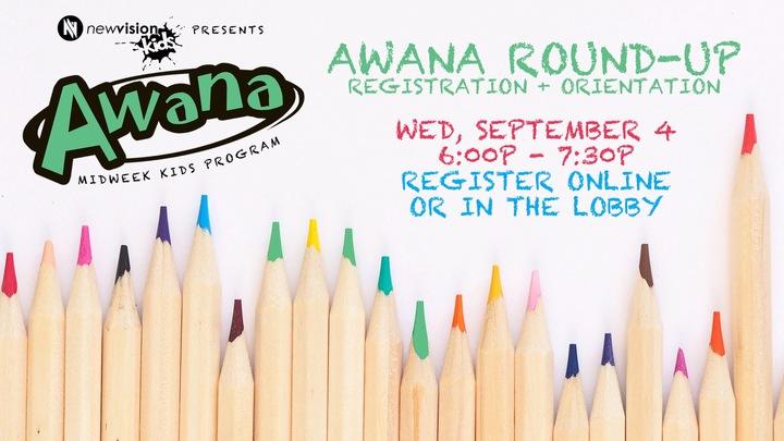 Awana Round Up logo image