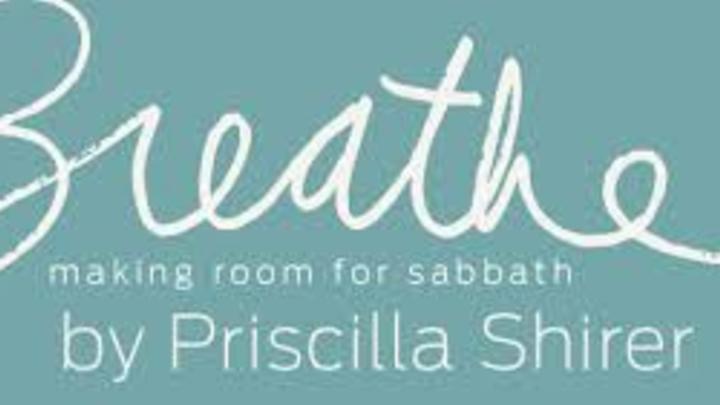 Thursday Night Rancho Women's Bible Study. Breathe by Priscilla Shirer logo image