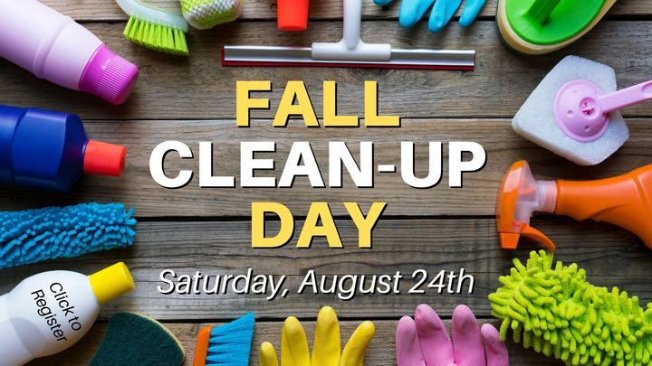 Fall Clean-Up Day logo image