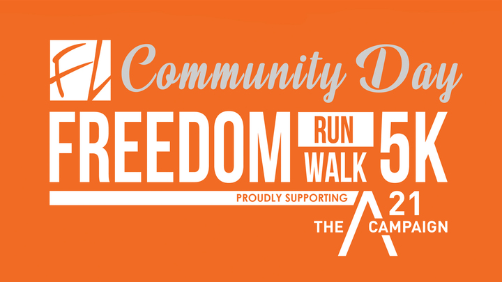 Volunteer for the FREEDOM 5K logo image