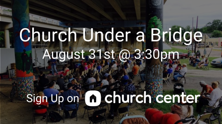 Church Under A Bridge logo image