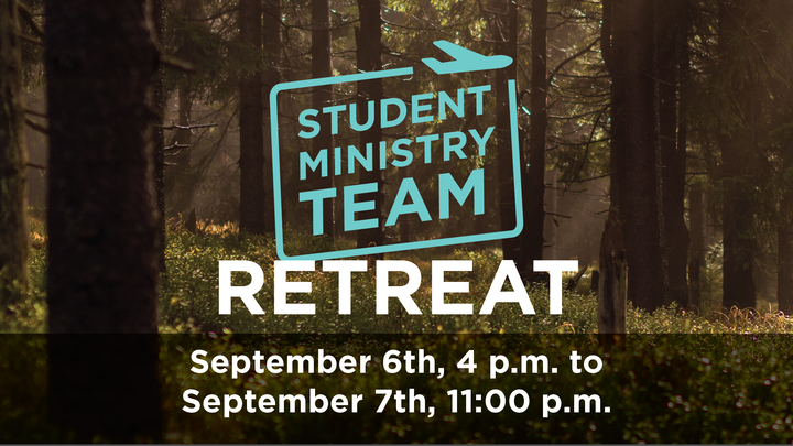 Student Ministry Team Retreat logo image