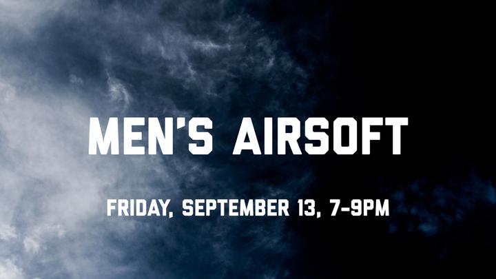 Men's Airsoft Night logo image