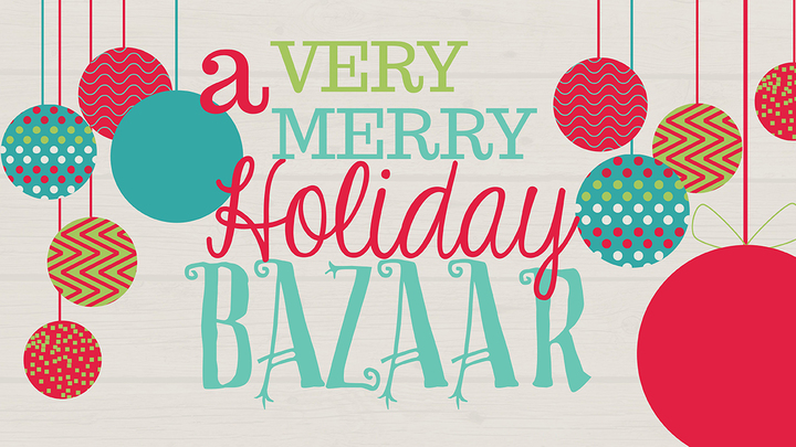 A Very Merry Holiday Bazaar logo image