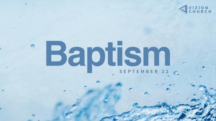 Baptism | September 22 logo image