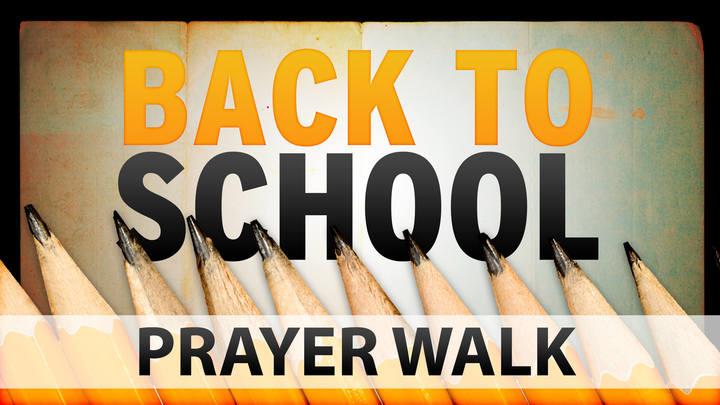 Back to School Prayer Walk logo image
