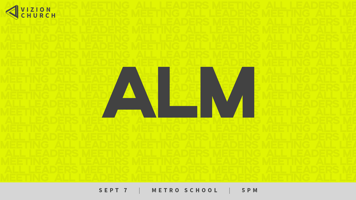 All Leaders Meeting logo image