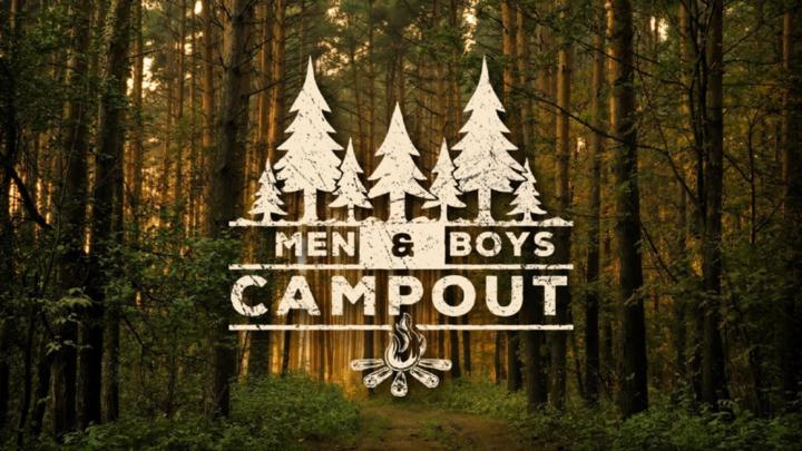 MEN-BOYS CAMPOUT (CLINTON CAMPUS) logo image