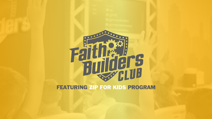 Faith Builders Club | Mid-Week Kids Program logo image