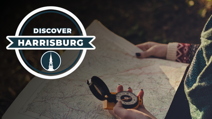 Discover Harrisburg | September 2019 logo image
