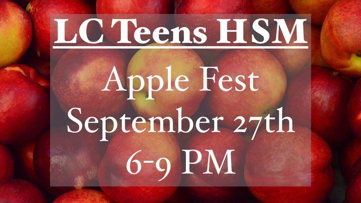 LC Teens HSM Apple Fest logo image