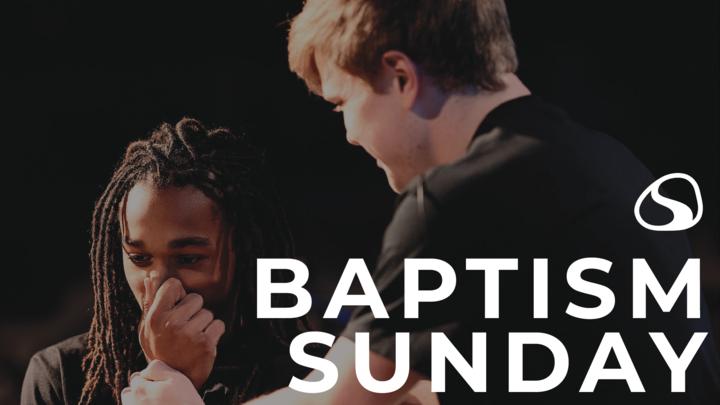 Baptism Sunday Registration logo image