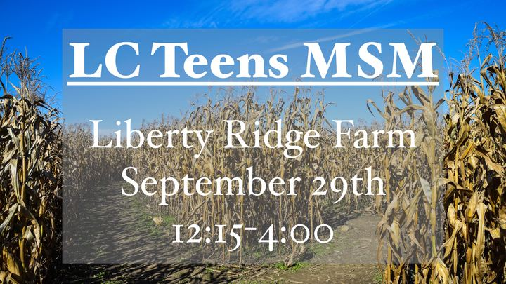 LC Teens MSM Liberty Ridge Farm logo image