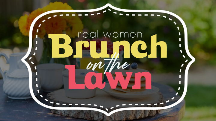 Real Women Brunch on the Lawn logo image