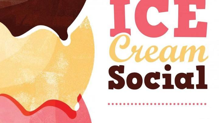 50's + Ice Cream Social logo image