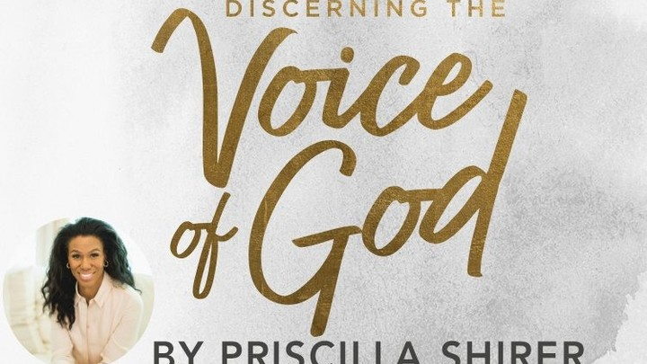 Discerning the Voice of God:  How to Recognize When God Speaks by Priscilla Shirer, led by Becki Baxter.   logo image