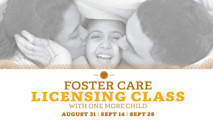 One more Child Foster Licensing Class logo image
