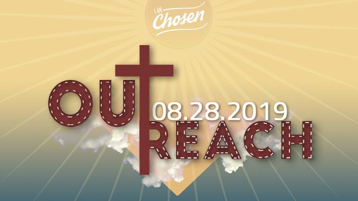 I AM CHOSEN - OUTREACH logo image