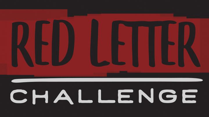 Red Letter Challenge Book logo image