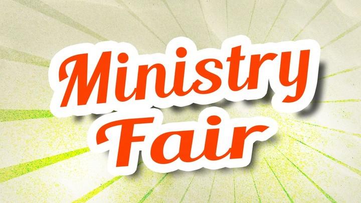 Ministry Fair logo image