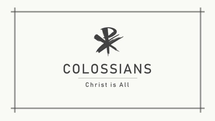Colossians Mid-Week Bible Study (Tues PM) logo image