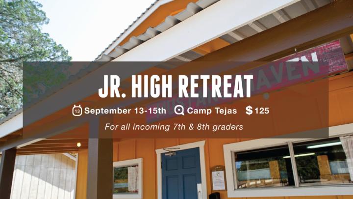 RSM Junior High Retreat logo image