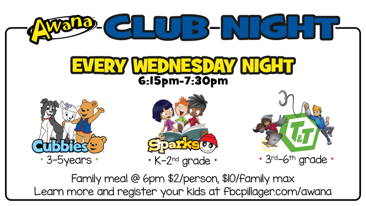 Club Night -Awana 2019-20 logo image