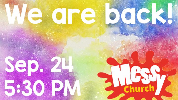 Messy Church logo image
