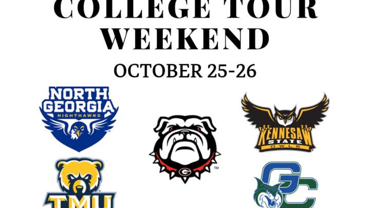 College Tour Weekend logo image