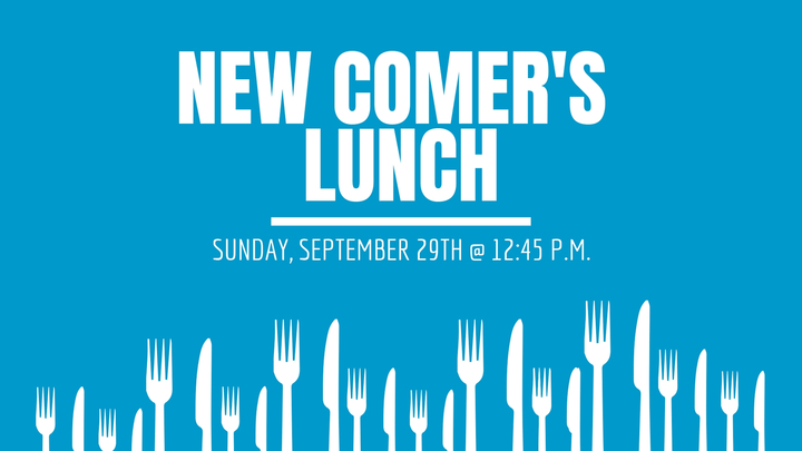 September Newcomer's Lunch logo image