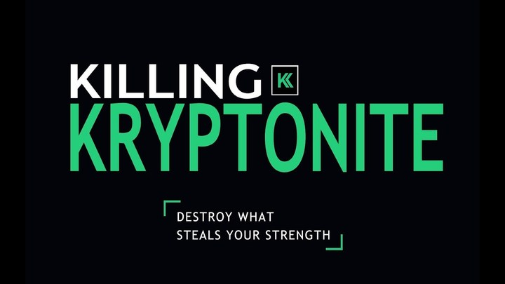 Killing Kryptonite - Men's Bible Study logo image
