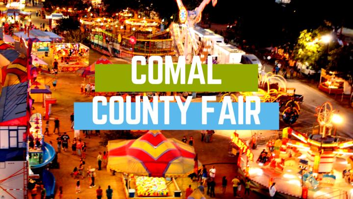 Comal County Fair Thursday logo image
