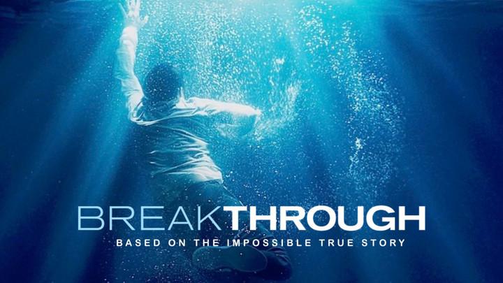 "Free Family Movie Night | ""Breakthrough"" logo image"